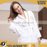 100% CottonTerry Embroidered Luxury Customizable Hotel Bathrobe