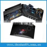 TRANSFORMERS!! Promotional video greeting card, Invitation cards with video LCD display,video mailers for advertising