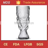 Hot selling cooling world cup trophy beer glass