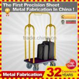 kindle 2014 new durable folding professional customized foldable shopping trolley cart for sale