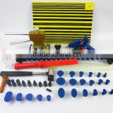 Dent Lifter - Glue Puller - PDR Tools - Paintless Dent Repair Hail Removal can repair big dent glue gun pdr set