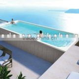 swimming equipment for hotel and passenger liner use;8 meters length swimming pool ;1 meter deep swimming pool