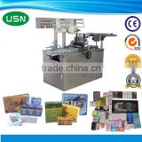 Automatic biscuit box wrapping machine