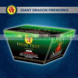 Wholesale China Liuyang 2014 new products 1.4g un0336 cake fireworks Final Test 36 Shots