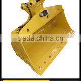 1200mm Hydraulic Tilting Batter Bucket Suit All 3-5t Mini Excavators tilt mud bucket/clean bucket/wide bucket