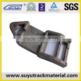 railroad tie plate for s54 rail