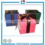 Fast delivery custom hardest carboard paper packaging rigid box for chistmas gift                                                                                                         Supplier's Choice