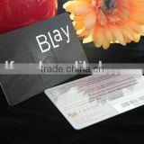 Popular new style plastic privilege/vip/loyalty card