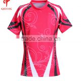 Professional sublimation rugby playing jersey,custom breathable rugby jersey,football rugby shirt