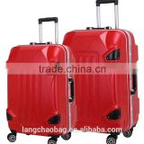 2015 China Alibaba High Quality ABS Suitcase Bag on Wheels/Drawbar Trolley/Plastic Suitcase Box                                                                         Quality Choice