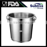 7.0L Stainless Steel Ring Handled Champagne Bucket                                                                         Quality Choice