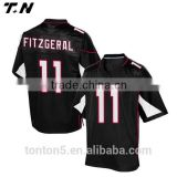 Custom cheap american football jerseys black , Custom design american football uniforms