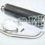 Racing Scooter Carbon Fibre Muffler motorcycle exhaust for YP4/Majesty 250