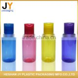 Private label professional cheap 90ml PET plastic material cosmetic bottle shampoo lotion foam round pump plastic bottle