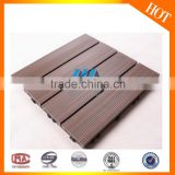 Durable two-layer WPC plastic flooring/easy installed vinyl sheet flooring