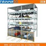 simple automated vertical parking system,vehicle solid parking system