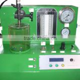 common rail injector test bench/PQ1000 injector tester can Inspeciton of the injector spray oil range