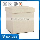 indian white antique wooden bar fabric storage ottoman stool