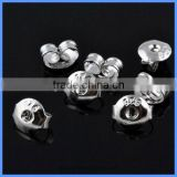 Wholesale 6.2*5mm 925 Pure Sterling Silver Stud Earring Backs Stoppers Ear Nuts Jewelry Findings Components SEA-EB003