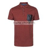 custom mens quick dry t-shirts china spot pure cotton moisture transfer leisure polo shirts