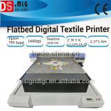 new textile cotton-padded sheeting sheet t-shirt piece garment fabric cloth plate-type flated printing equipment