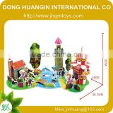 New design building 3d paper model puzzle