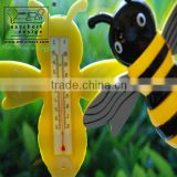Animal shape testing outdoor temperature thermometer