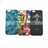 Water transfer printing for iphone 6 case with hard PC material in high quality