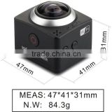 CUBE 360 Mini WIFI sport action camera H.264 Video camera 360x190 Large Panoramic Shot action Camera sport cam 1080p wifi