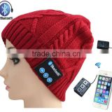 Latest Bluetooth V4.1 Bluetooth Beanie Hat Wireless Bluetooth Beanie Bluetooth Hat Combined with Stereo Headphones and Microphon