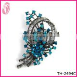 Metal Alloy Hijab Pin Brooch For Wedding Invitation