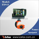 KJstar Adjustable Bicycle Bike Phone Mount Holder for Smartphone iPhone 4 4G 4S GPS (Z18-5)