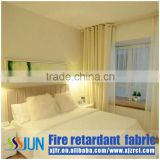 New arrival 100% polyester in stock high precision flame retardant curtain fabric use for hotel, home, wedding