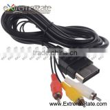 High quality AV Cable Kit Video Cord For Xbox 360 Black