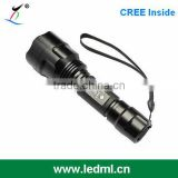 police rechargeable flashlight