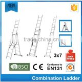 combination rope ladder with SGS/EN131 by aluminum