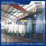 SINODER Edible Cooking Oil Refinery Plant sunflower oil processing machine edible oil refinery factory