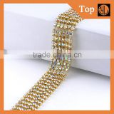 3mm Crystal AB rhinestone chain strass rhinestone chain for clothing