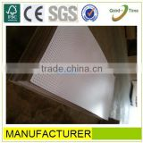 white melamined high quality perforate mineral fiber board