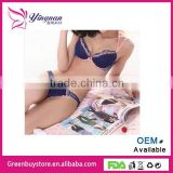 2014 Hot Latest Japanese Flax Roses Push Up Women's Underwear Set Of Lingerie Sexy Yong Girls And Lady's Brassiere Sets