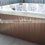 Acrylic Massage Bathtub Spa pool wooden SPA skirt board