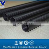 High quality 3k twill matte carbon fiber tube for telescoping poles