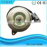 21487-0E00 Japanese original quality auto parts cheaper price 12v dc engine radiator cooling fan motors for Japanese car