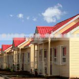 prefabricated house china supplier mobile modular villa steel frame modern kit home