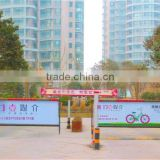Over 5 Million Lifetimes !!! Advertising Automatic Barrier Gate, Outdoor Used Car Parking Advertising Boom Barrier