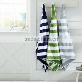 yarn dyed stripe bamboo hooded baby towel