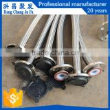 Professional manufacturer of braided with stainless steel flexible line teflon ptfe hose