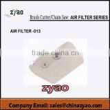 air filter for brush cutter ,gas chain saw parts