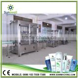 Automatic Non-carbonated shampoo Bottle Filling Machine Of detergent /oil shampoo Making Equipment