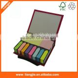 Advertised Sticky Note pads ,sticky strips index in logo printed holder